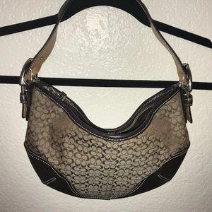 Coach shoulder bag like new